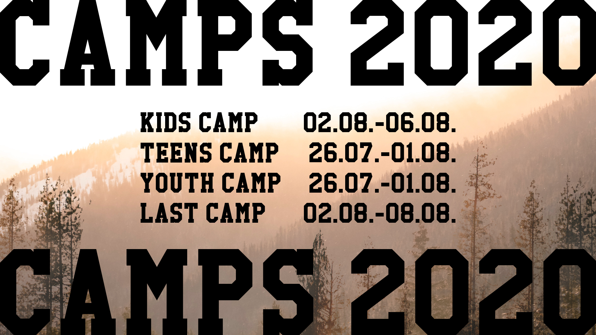 Camps-2020